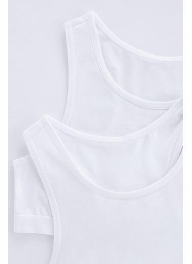 Penti Beyaz Teen W Basic 2Li Spor Atlet Beyaz